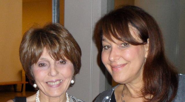 Constance Lewallen and Karen Moss