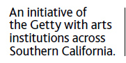 An initiative of the Getty with arts institutions across Southern California.