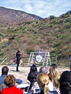 "Various artists, ""Niki de Saint Phalle, Tirs: Reloaded,"" 1/22/12, Angeles Shooting Ranges, Lake View Terrace"